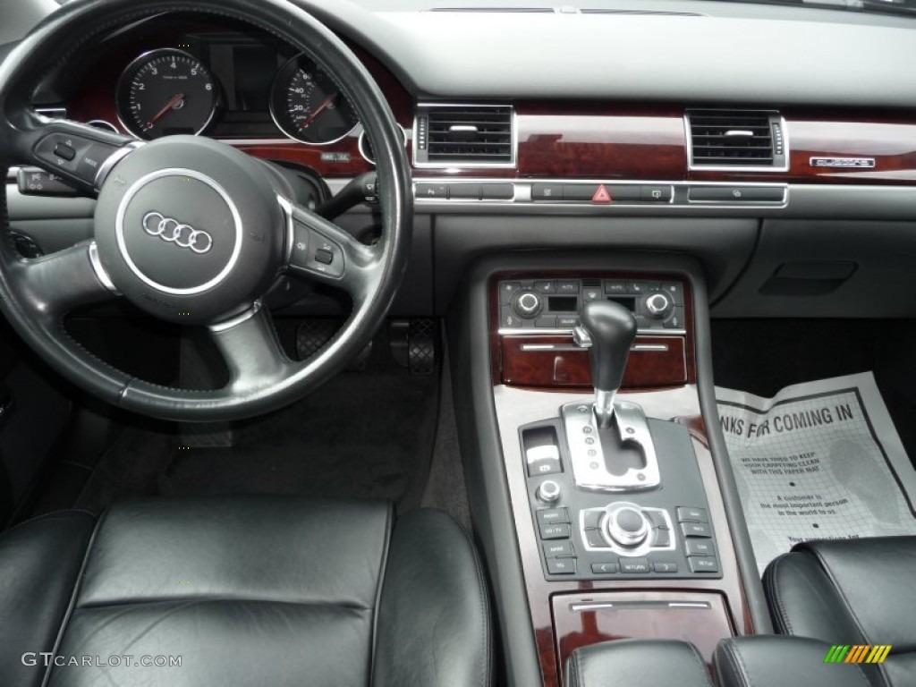 2004 Audi A8 L 4.2 quattro Black Dashboard Photo #62851147 ...