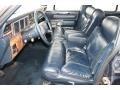1987 Lincoln Town Car Navy Blue Interior Interior Photo
