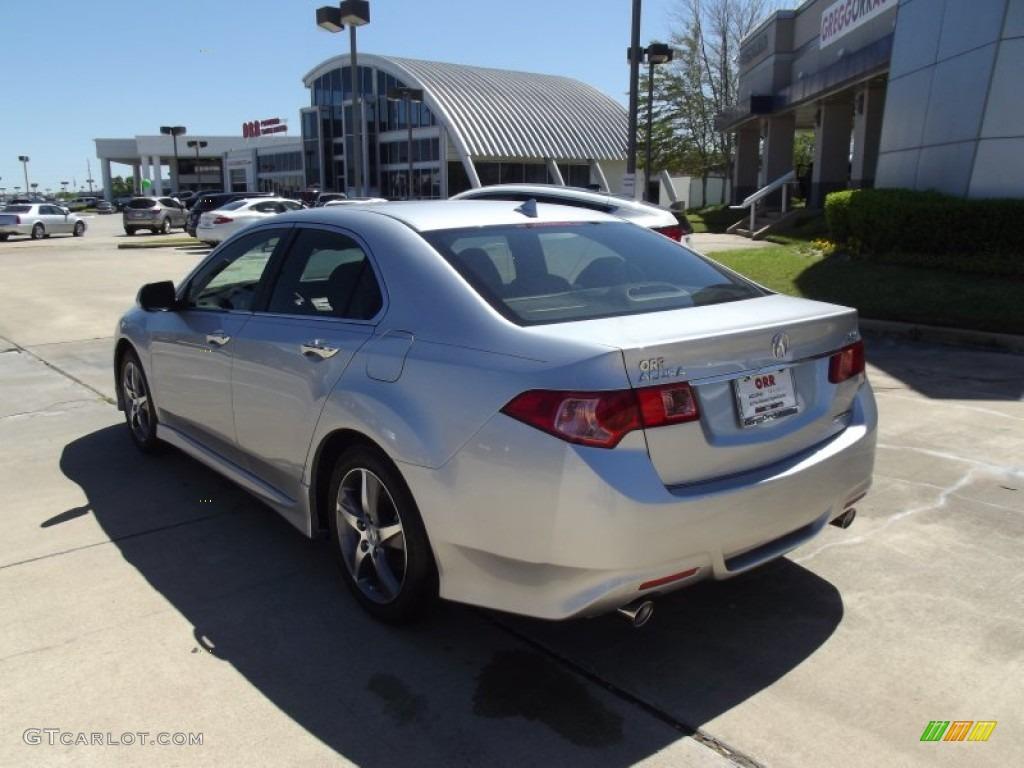 2012 Silver Moon Acura TSX Special Edition Sedan #62853996 Photo #4 ...