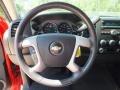 2009 Victory Red Chevrolet Silverado 1500 LT Crew Cab  photo #32