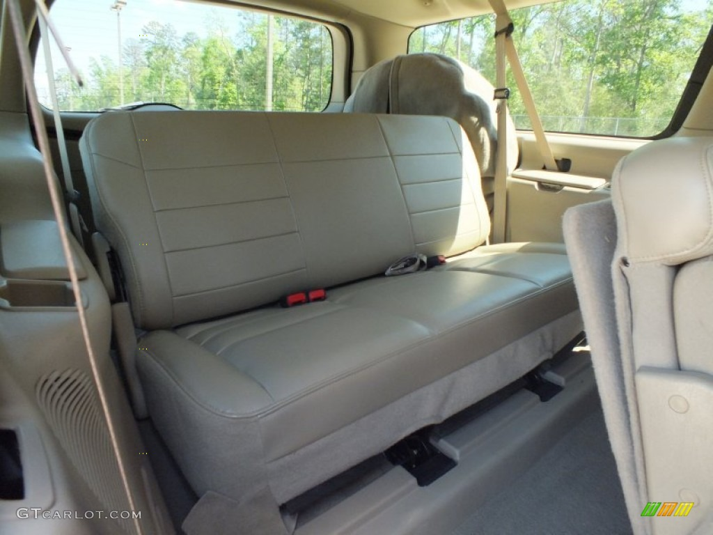 2005 Ford Excursion Limited Interior Color Photos