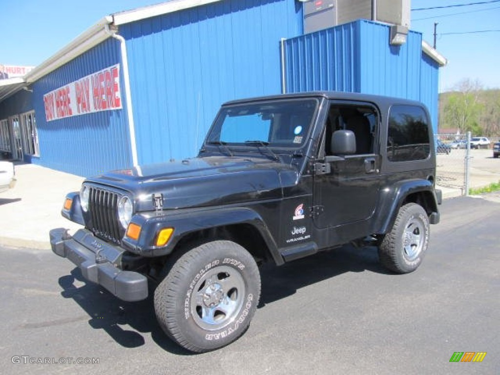 Black Clearcoat Jeep Wrangler. Jeep Wrangler X 4x4 Freedom Edition