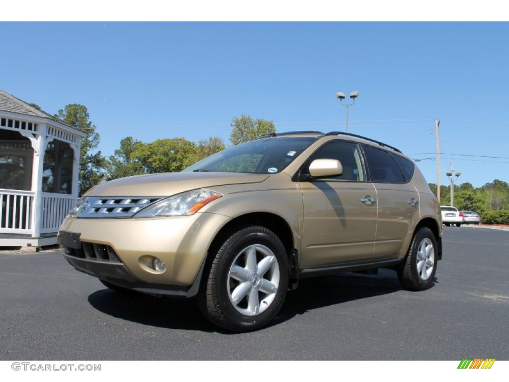 2004 luminous gold metallic nissan murano se awd #62865212