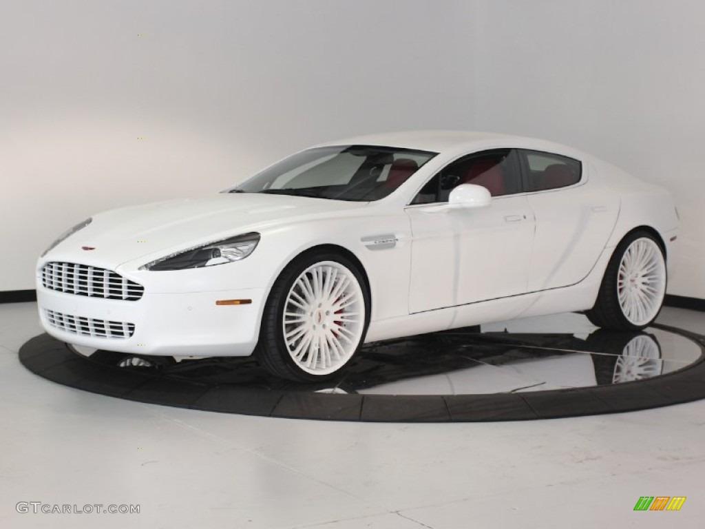 white aston martin rapide. stratus white 2011 aston martin rapide sedan exterior photo 62880554