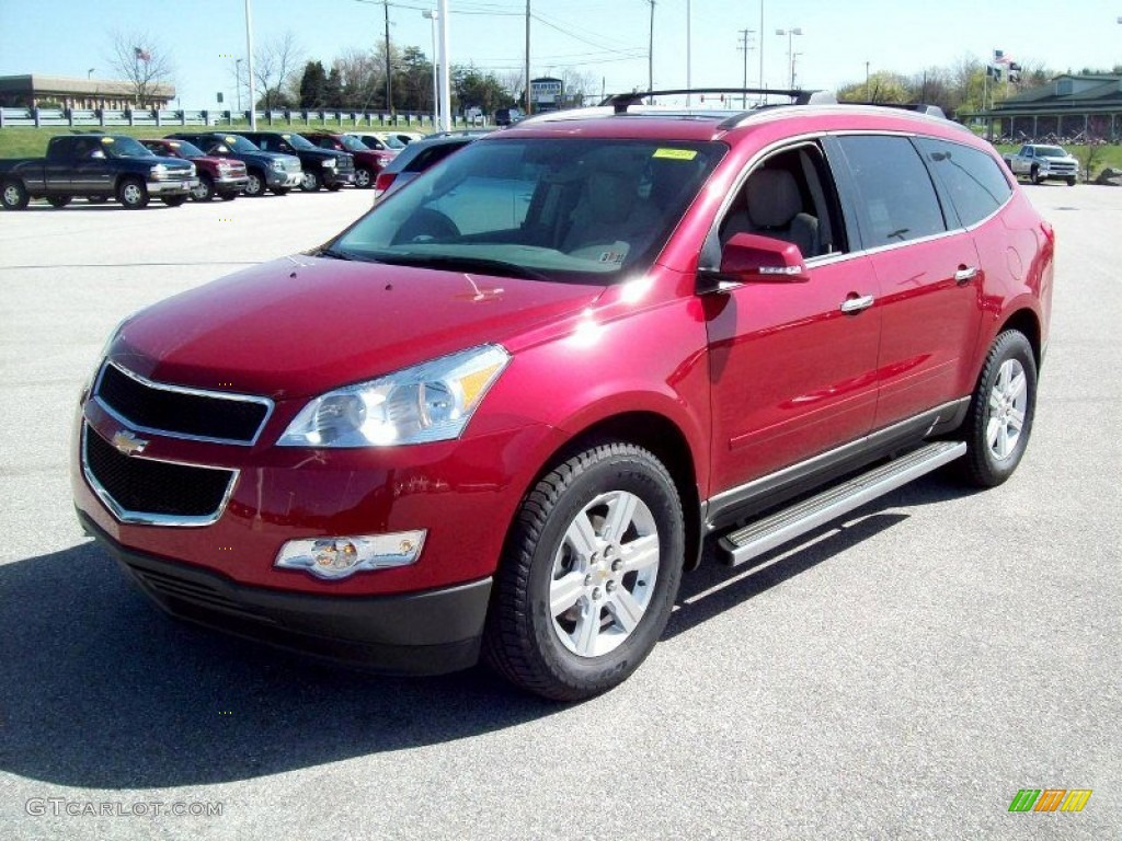 crystal red tintcoat 2012 chevrolet traverse lt exterior photo. Cars Review. Best American Auto & Cars Review