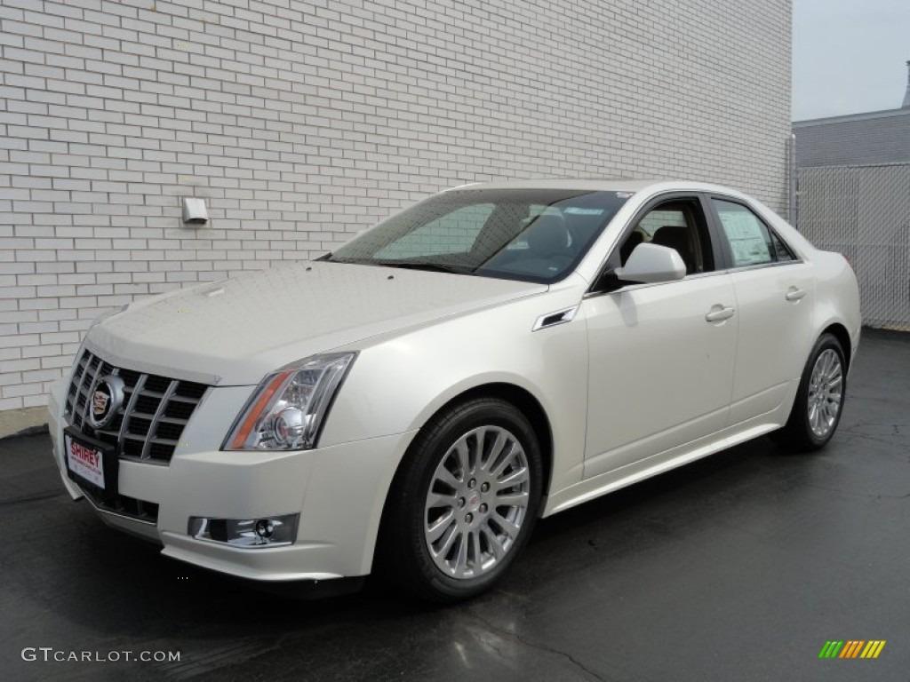 2012 White Diamond Tricoat Cadillac Cts 3 6 Sedan