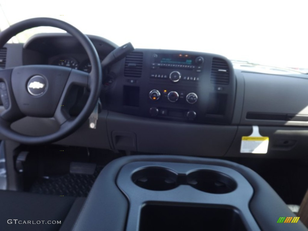 2012 Silverado 1500 LS Extended Cab 4x4 - Summit White / Dark Titanium photo #10