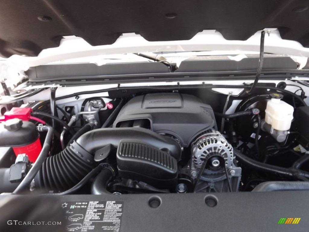 2012 Silverado 1500 LS Extended Cab 4x4 - Summit White / Dark Titanium photo #18