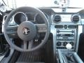 2007 Ford Mustang Black Leather Interior Dashboard Photo