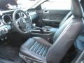 2007 Ford Mustang Black Leather Interior Interior Photo