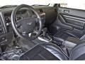 Ebony Black/Pewter 2008 Hummer H3 Interiors