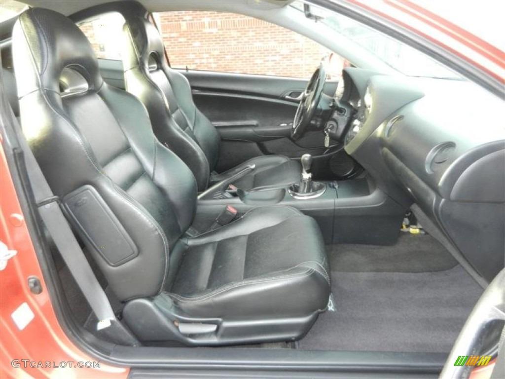 Ebony Interior 2005 Acura Rsx Type S Sports Coupe Photo