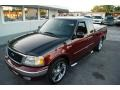 Burgundy Red Metallic 2003 Ford F150 Heritage Edition Supercab