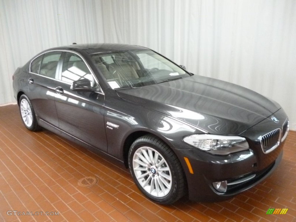 2012 Dark Graphite Metallic Ii Bmw 5 Series 535i Xdrive