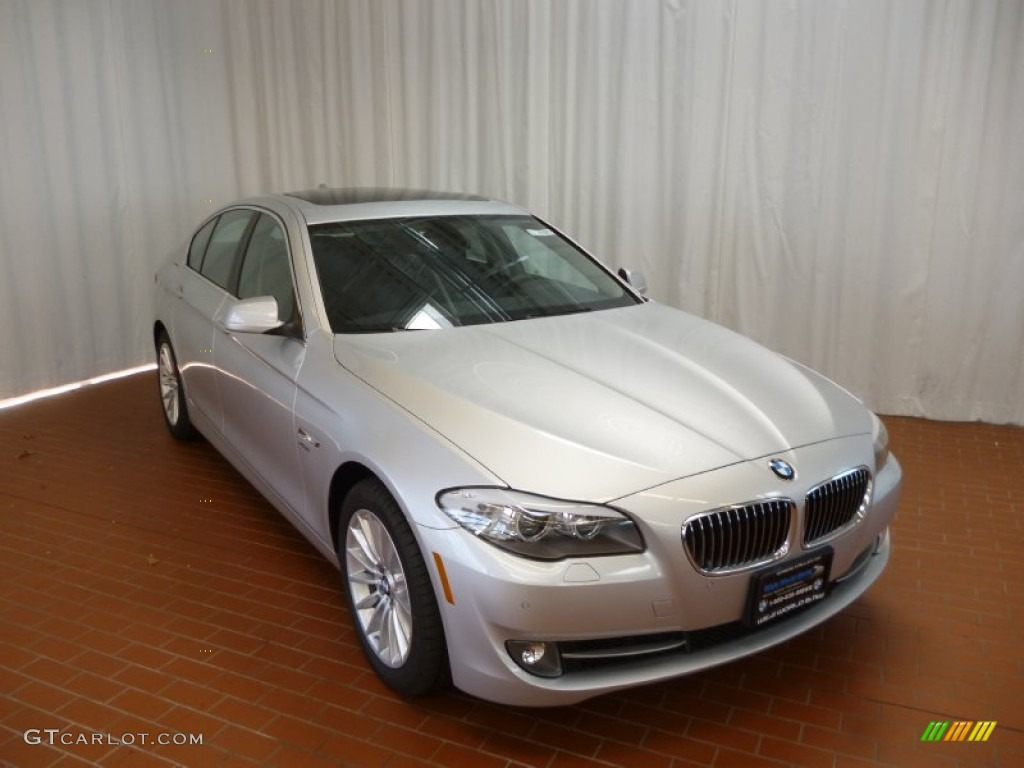 2012 titanium silver metallic bmw 5 series 535i xdrive. Black Bedroom Furniture Sets. Home Design Ideas