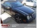 Black 2001 Mercedes-Benz CLK 430 Cabriolet
