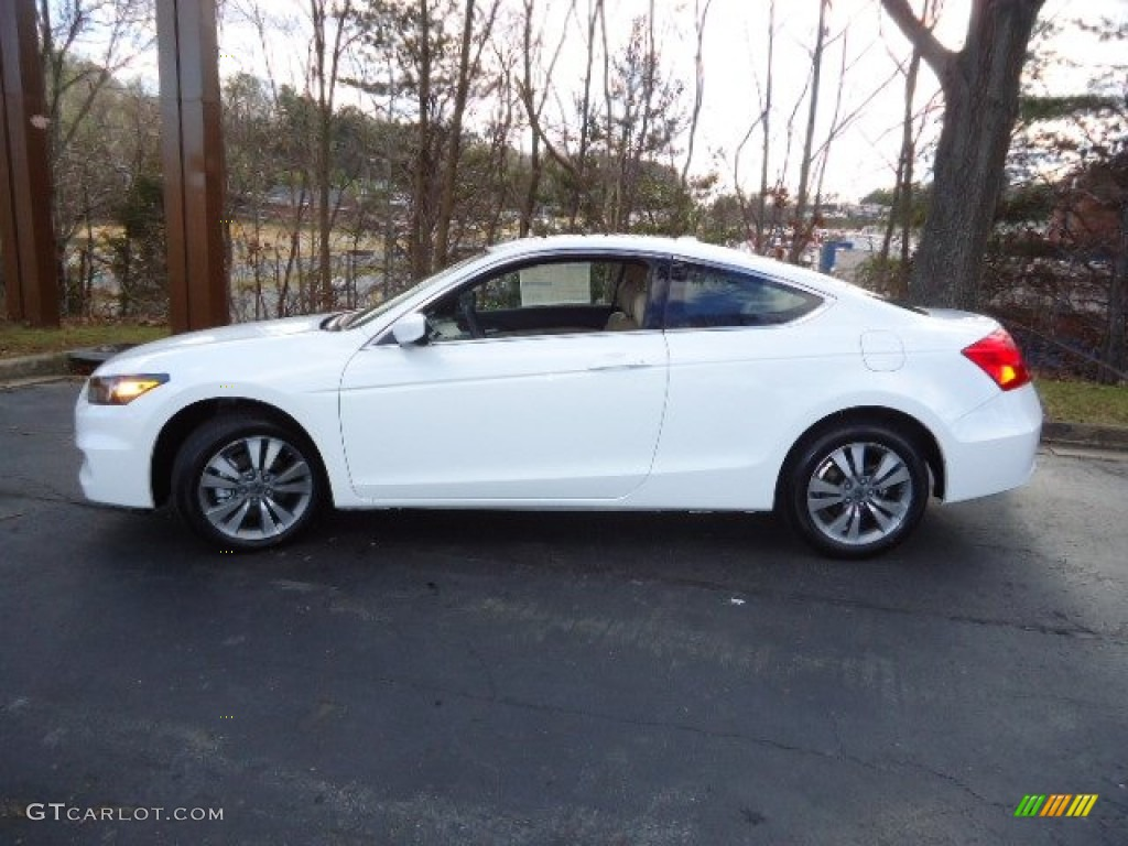 Taffeta White 2012 Honda Accord Ex L Coupe Exterior Photo