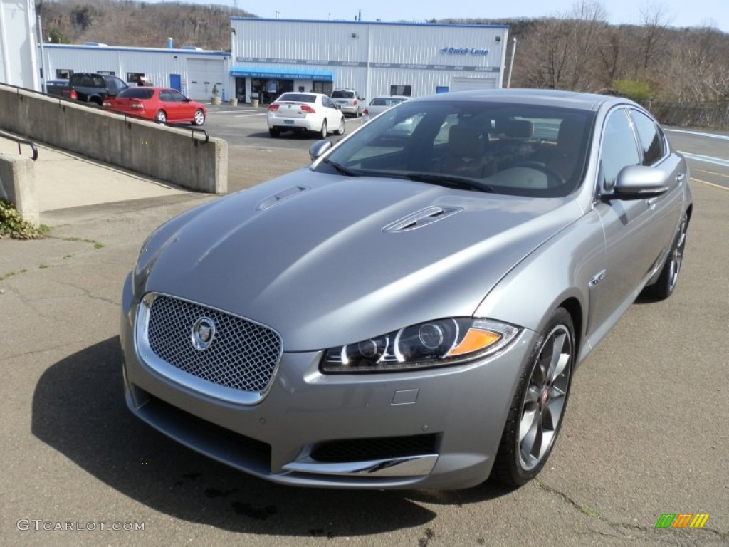 lunar grey metallic 2012 jaguar xf supercharged exterior photo 62953076. Black Bedroom Furniture Sets. Home Design Ideas