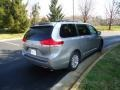 2012 Silver Sky Metallic Toyota Sienna XLE AWD  photo #7