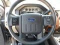 2012 Sterling Grey Metallic Ford F250 Super Duty Lariat Crew Cab 4x4  photo #36