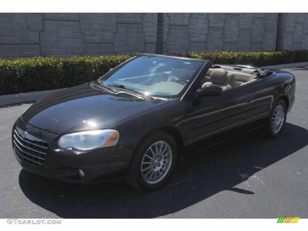Brilliant Black Crystal Chrysler Sebring Lxi Convertible
