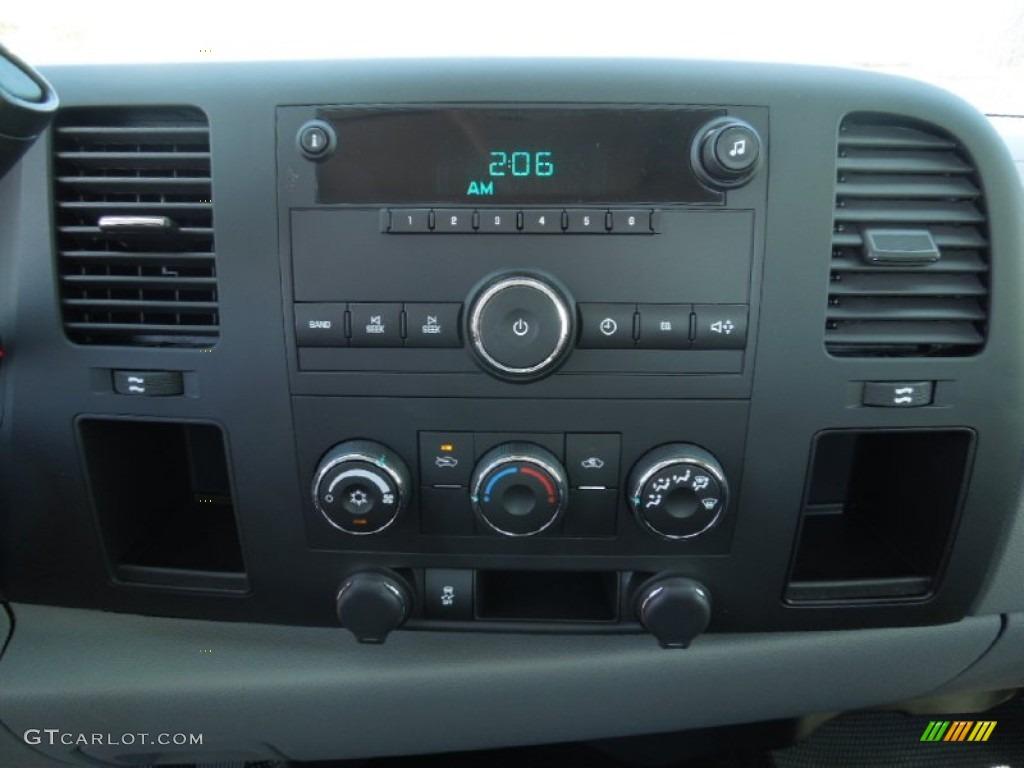 2012 Silverado 1500 Work Truck Regular Cab - Black Granite Metallic / Dark Titanium photo #12