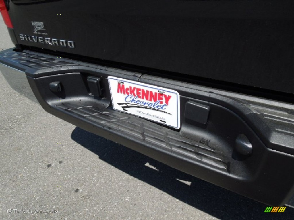 2012 Silverado 1500 Work Truck Regular Cab - Black Granite Metallic / Dark Titanium photo #16