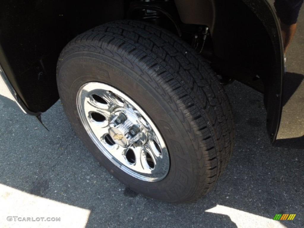 2012 Silverado 1500 Work Truck Regular Cab - Black Granite Metallic / Dark Titanium photo #23