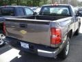 2012 Mocha Steel Metallic Chevrolet Silverado 1500 Work Truck Regular Cab  photo #2