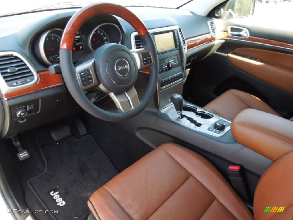 New Saddle Black Interior 2012 Jeep Grand Cherokee
