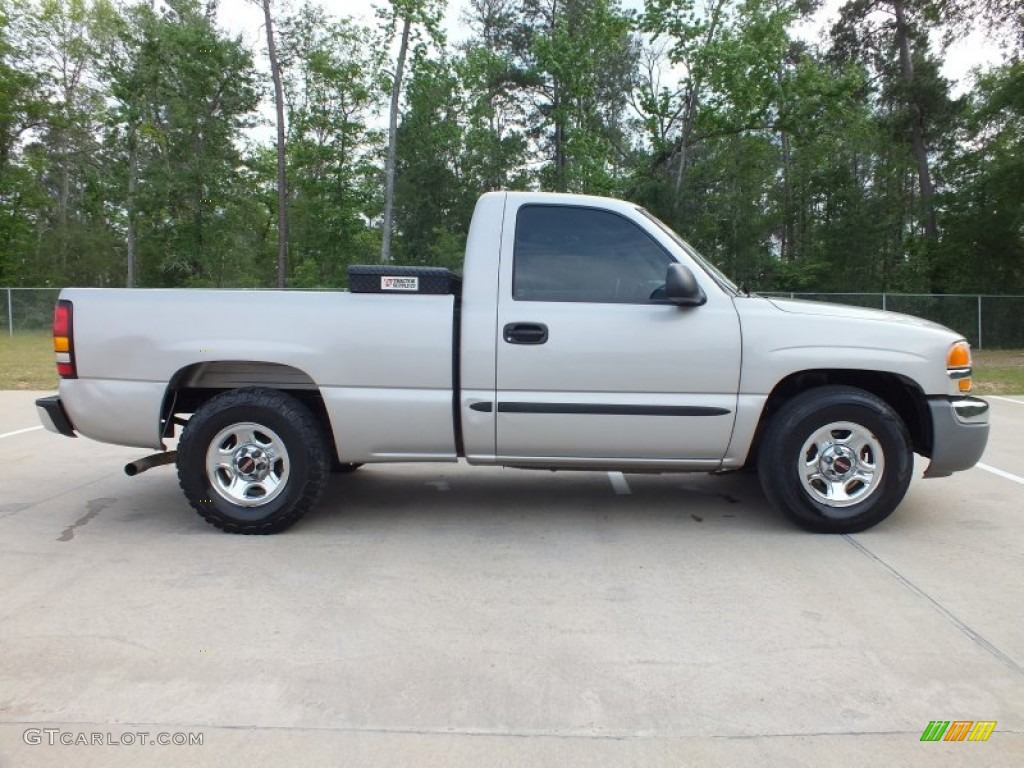 Silver Birch Metallic 2004 GMC Sierra 1500 Regular Cab Exterior Photo #62981474 | GTCarLot.com