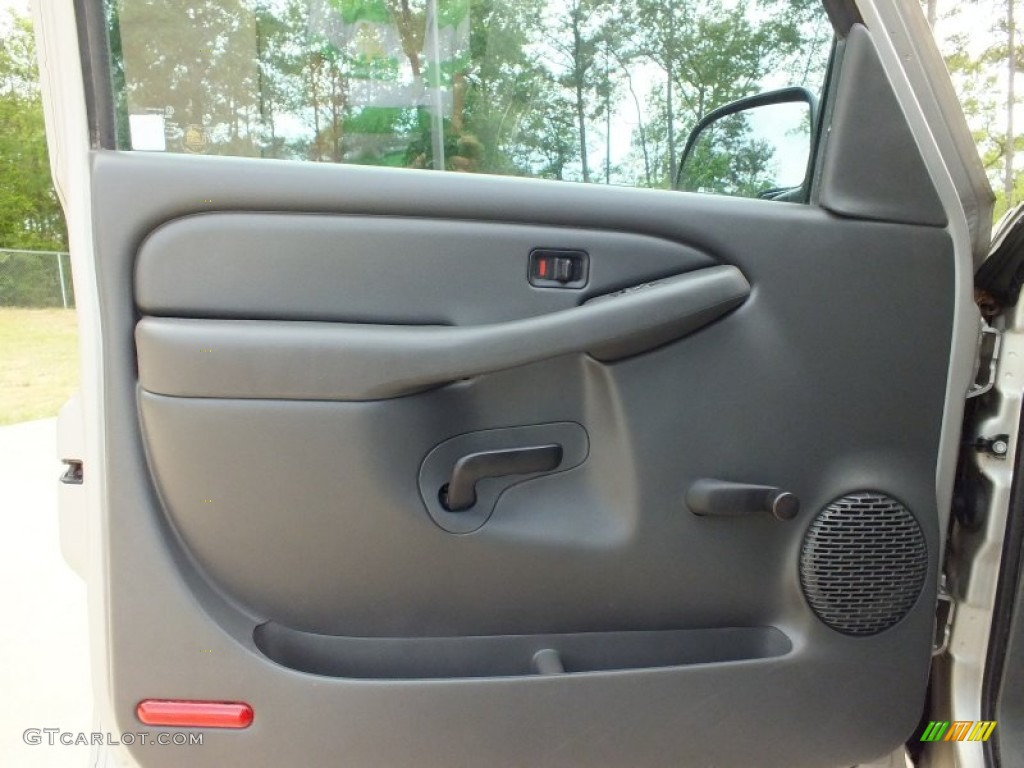 2004 Gmc Sierra 1500 Regular Cab Pewter Door Panel Photo 62981567 Gtcarlot Com