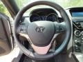 Black Cloth Steering Wheel Photo for 2013 Hyundai Genesis Coupe #62983487