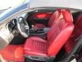 Red Leather Interior Photo for 2005 Ford Mustang #62987561