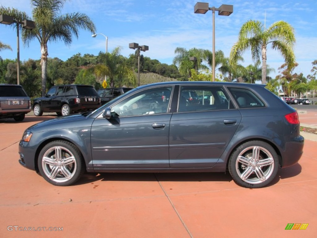 meteor gray pearl effect 2012 audi a3 2 0t exterior photo 62994536. Black Bedroom Furniture Sets. Home Design Ideas