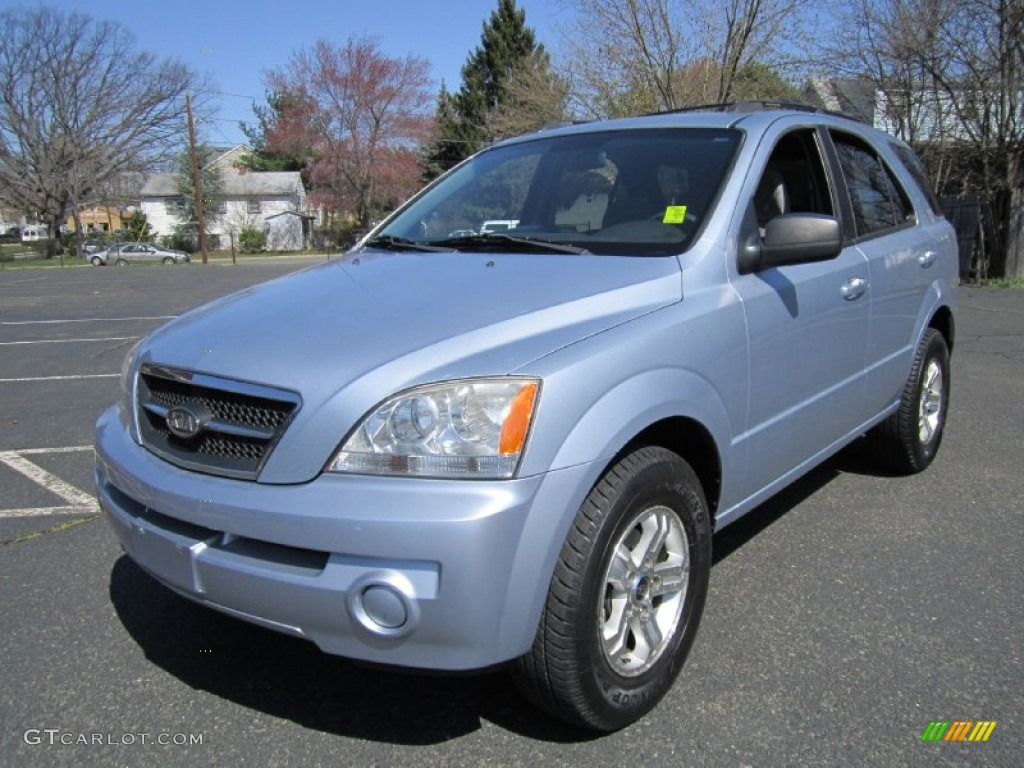 2005 Kia Sorento Blue 200 Interior And Exterior Images