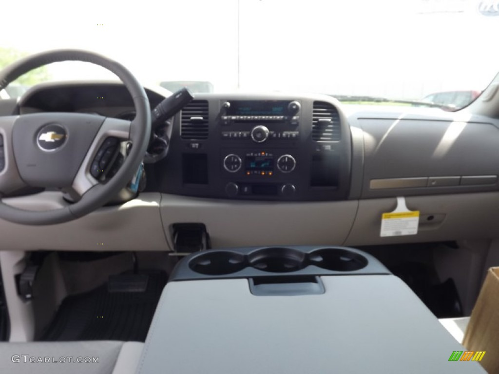 2012 Silverado 1500 LT Extended Cab - Blue Granite Metallic / Light Titanium/Dark Titanium photo #10