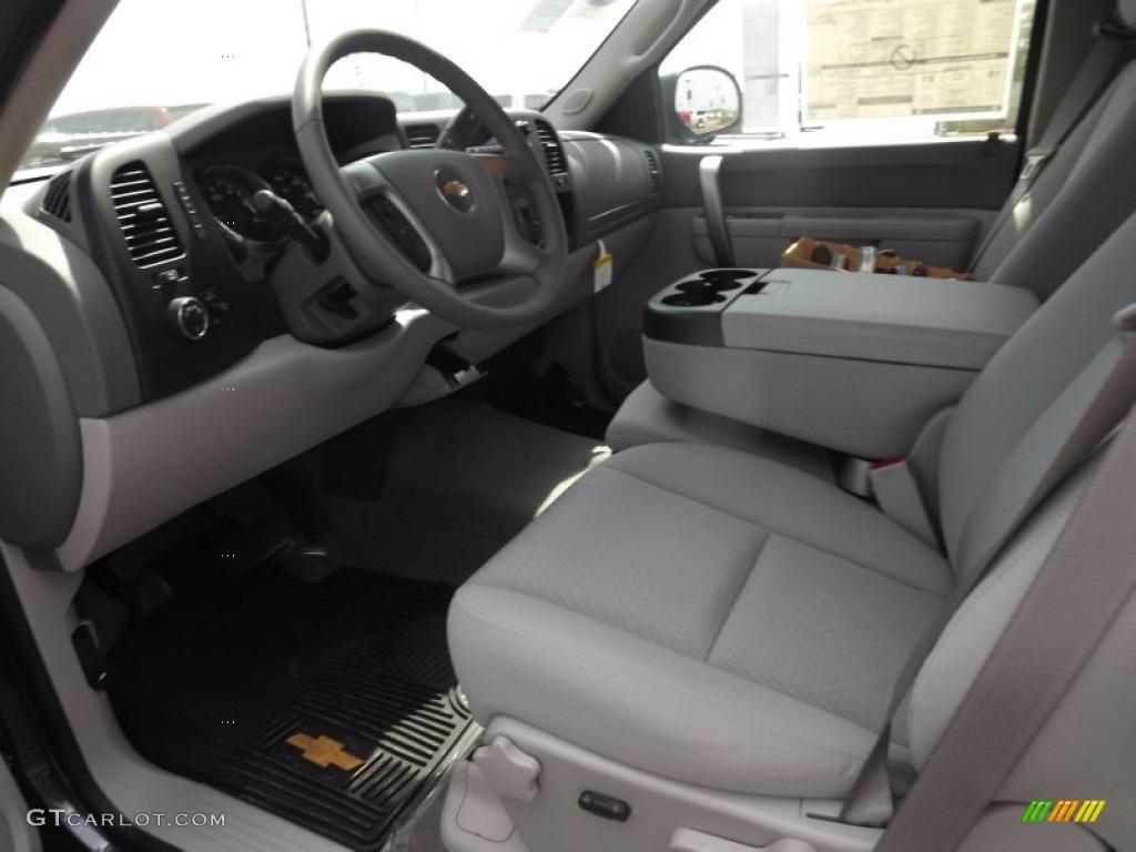 2012 Silverado 1500 LT Extended Cab - Blue Granite Metallic / Light Titanium/Dark Titanium photo #11