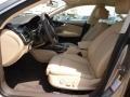 2012 A7 3.0T quattro Prestige Velvet Beige Interior