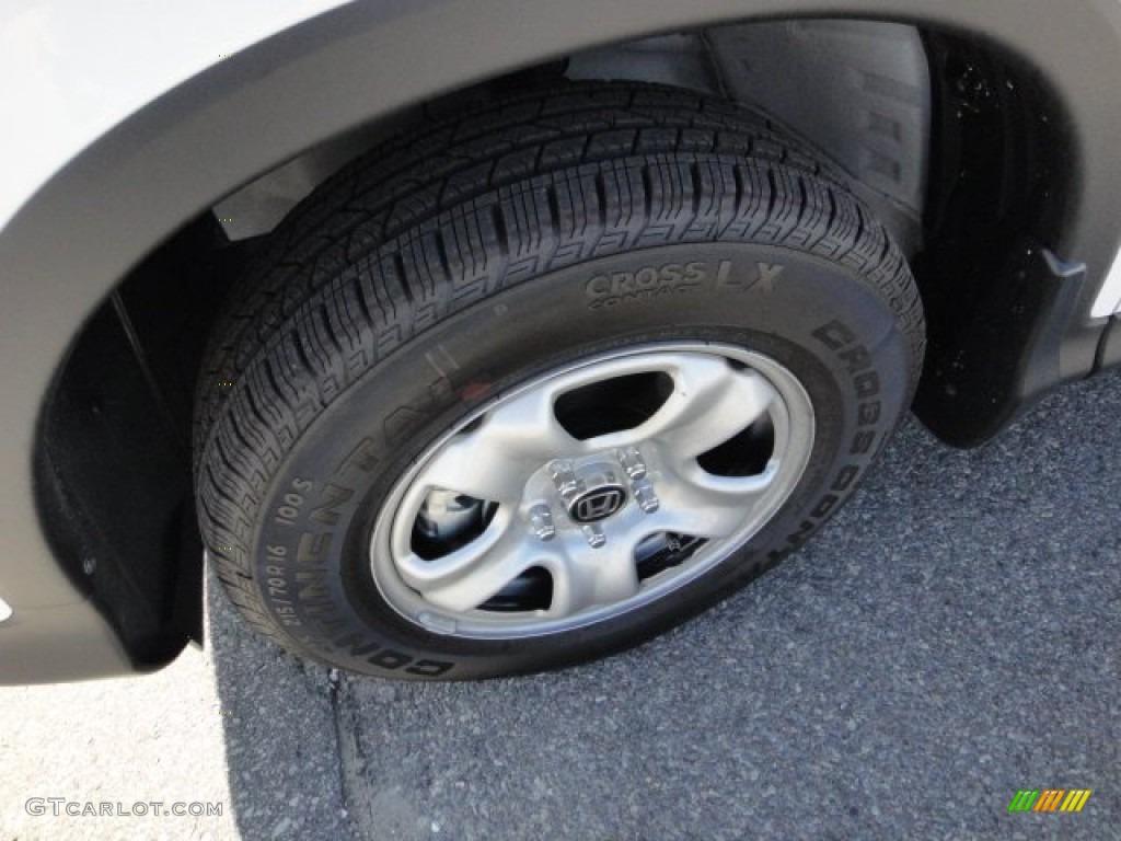 2012 CR-V LX 4WD - Taffeta White / Gray photo #9