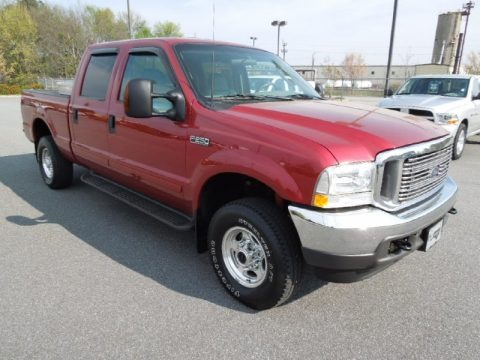 2003 Ford F250 Super Duty Lariat Crew Cab 4x4 Data, Info and Specs