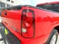 2005 Victory Red Chevrolet Silverado 1500 LS Crew Cab  photo #19