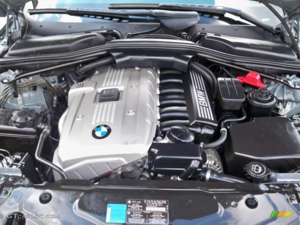2007 BMW 5 Series 530i Sedan 3.0 Liter DOHC 24-Valve VVT Inline 6 ...
