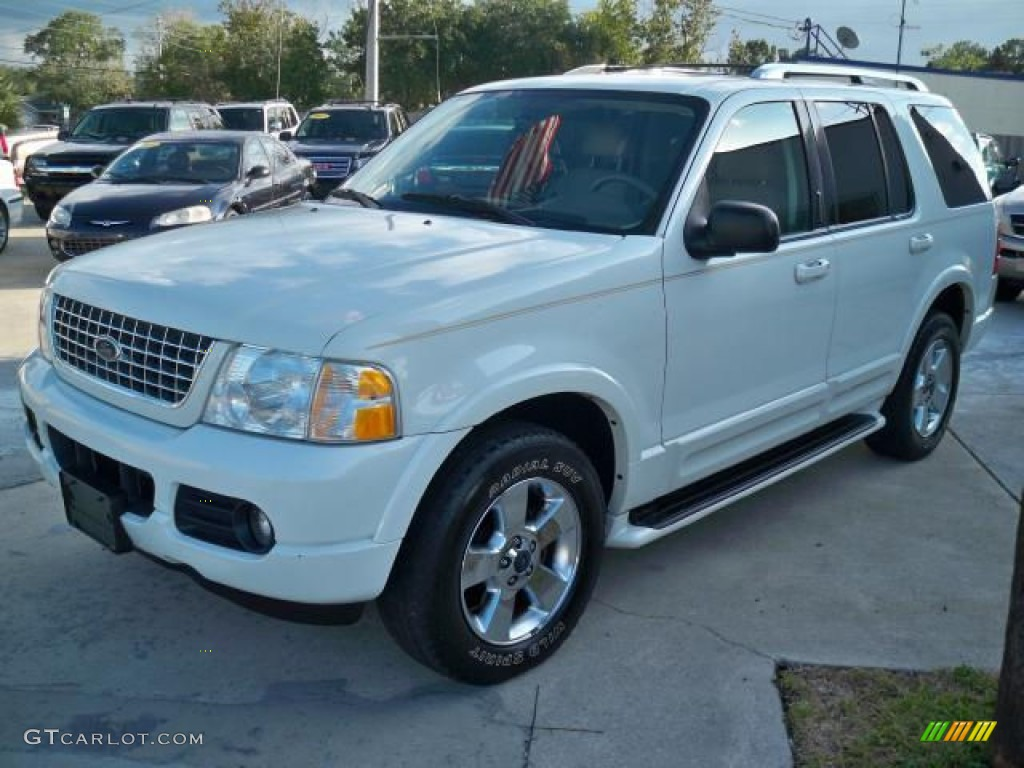 2003 oxford white ford explorer limited awd 63038868 gtcarlot com