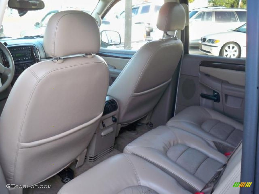 Great Medium Parchment Beige Interior 2003 Ford Explorer Limited AWD Photo  #63048934