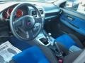 2007 Subaru Impreza Blue Alcantara Interior Interior Photo