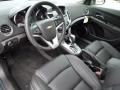 Jet Black 2012 Chevrolet Cruze Interiors