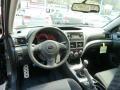 2012 Subaru Impreza WRX Carbon Black Interior Dashboard Photo