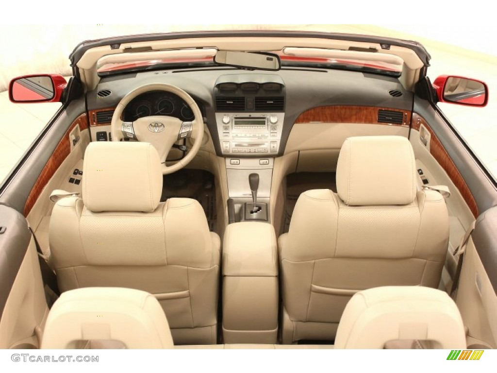 2008 Toyota Solara Sle V6 Convertible Interior Photo