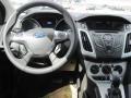 2012 Tuxedo Black Metallic Ford Focus SE SFE Sedan  photo #6